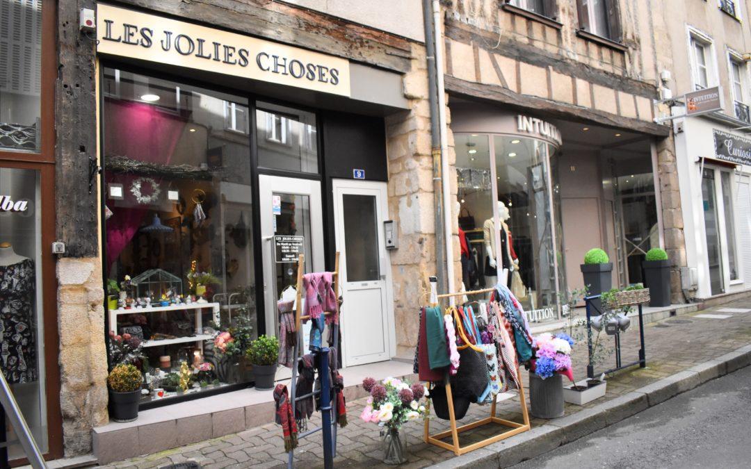 Découverte du concept store «Les Jolies Choses»